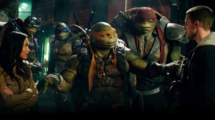Teenage Mutant Ninja Turtles: Out of the Shadows  somehow took #1 at the box office with $35.31 Million.