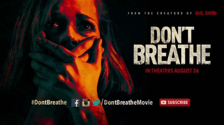Don't Breathe  stifled the competition with an estimated $15.83 million.
