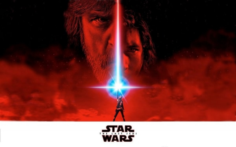 Star Wars: The Last Jedi  managed to hang on to the top spot with an estimated $71.6 million.