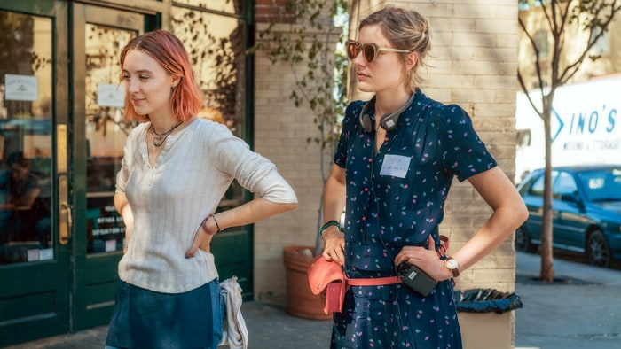 Saoirse Ronan (Left) and Greta Gerwig (Right)