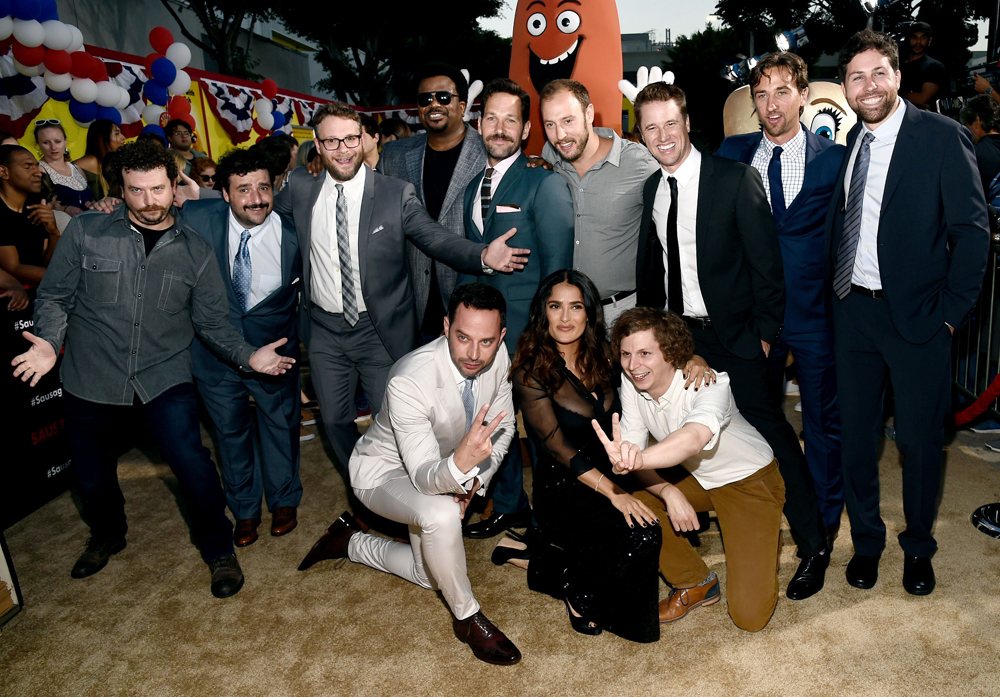 Most of the cast. Minus Kristen Wiig.