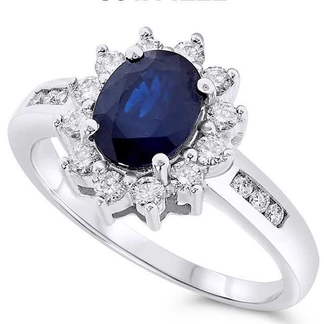 #14k #sapphire #ring #sapphirering