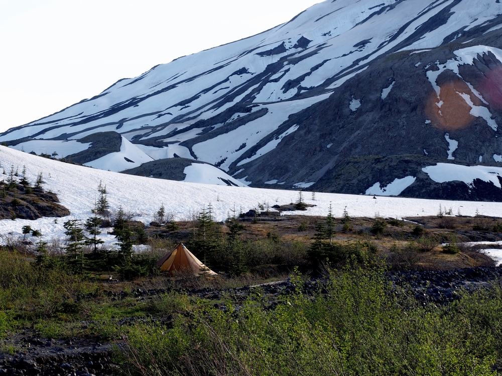 These tents look like they're meant to be in the backcountry!