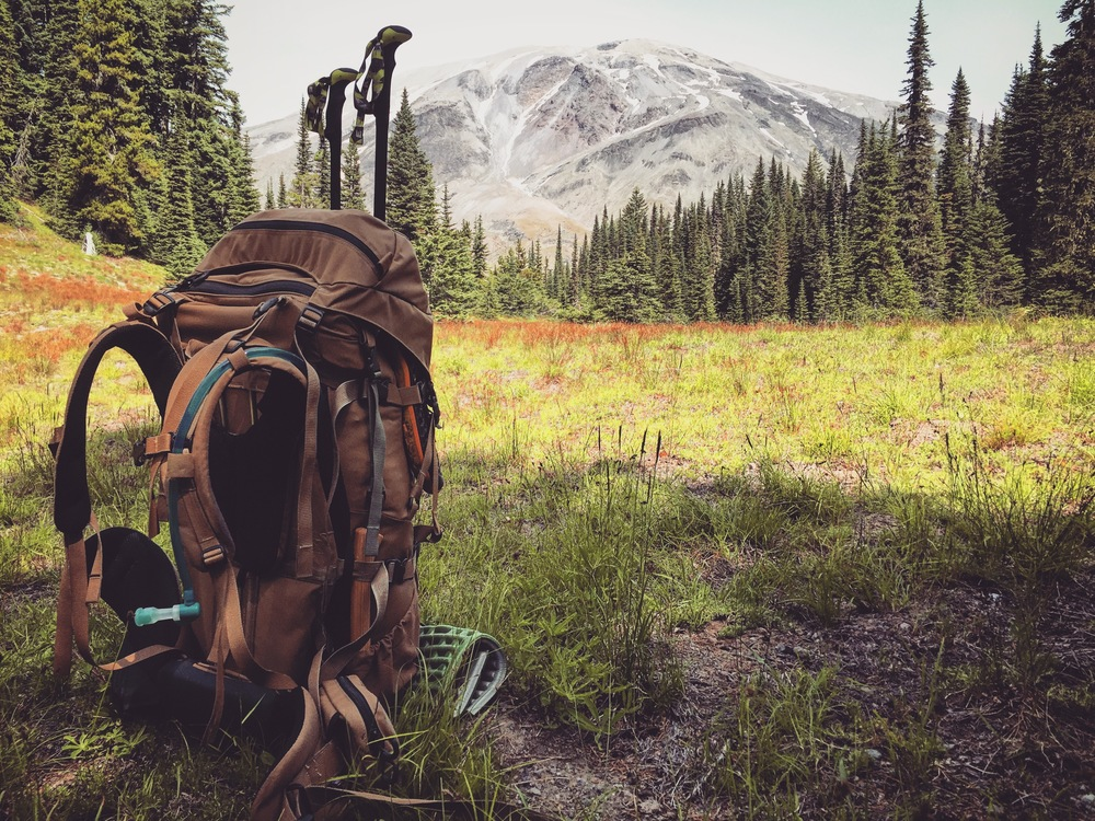 Favorite mountain and new favorite daypack.