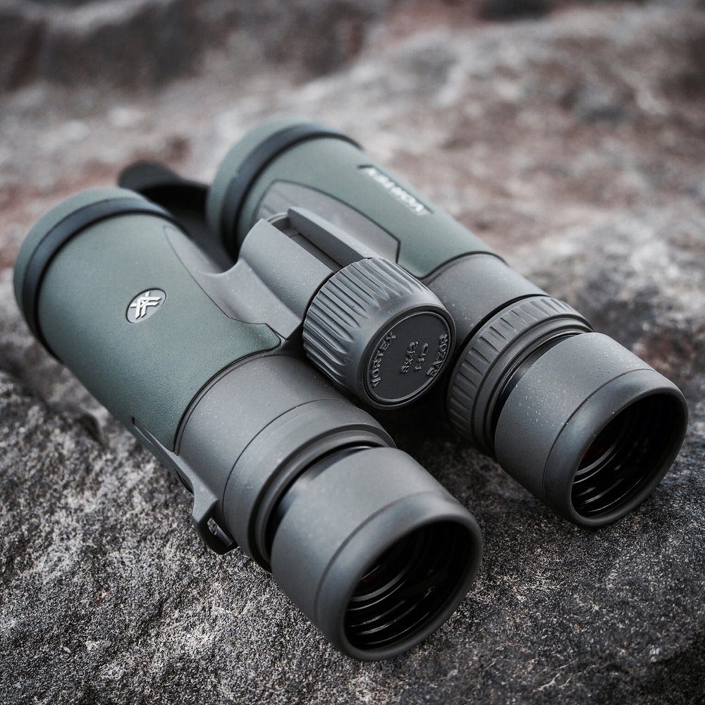 The Vortex Razor HD 8x42 Binoculars are sturdy, clear, and a great asset for where I hunt.