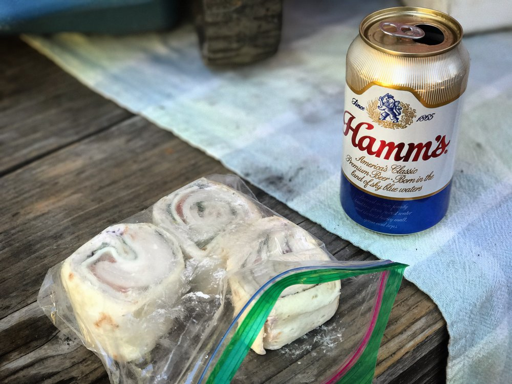 Hamm's and cheese sandwiches...see what I did there?
