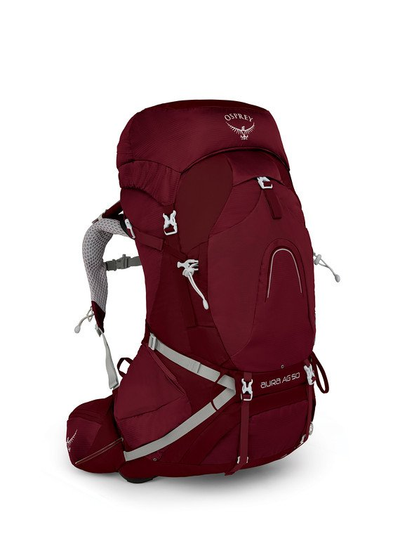 Osprey Aura AG 50 - Womens - Just like the above, but specifically designed to fit the female body.