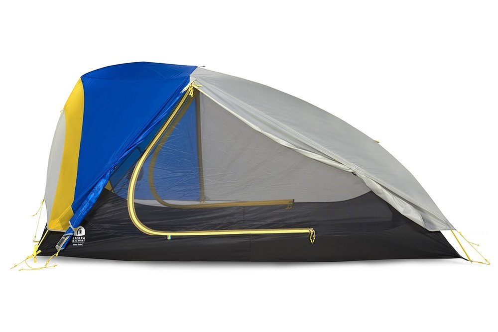 Sierra Designs Sweet Suite 2 - Sierra Designs is known for making livable tents. They might not be the lightest on the market, but they're still very lightweight. More importantly, they're livable and comfortable.SD makes it a point that when they say