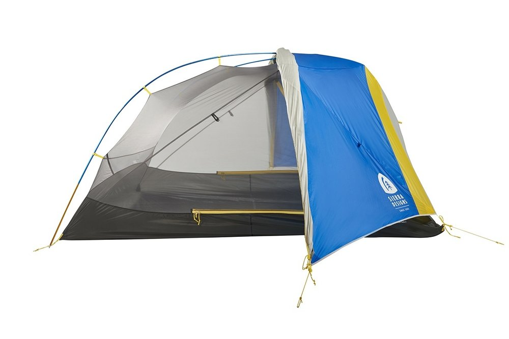 Tent - This tent is perfect for both you and a friend without cramping anyones style. Sierra Designs is known for the livability of their tents and ease of use.