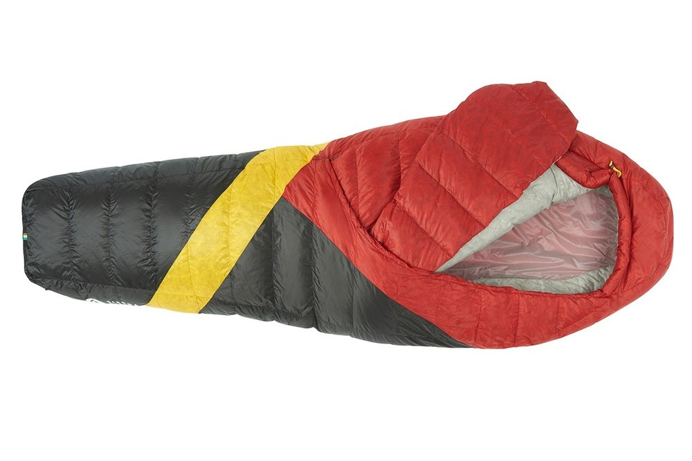 Sleeping Bag - Unlike a mummy bag that can be restricting to sleep in, this sleeping bag promotes comfort by allowing you to move freely and tuck yourself in like you might at home in your own bed.