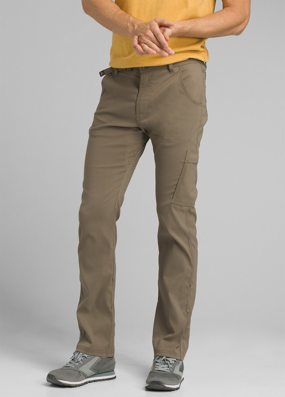 Pants or Shorts - If you're not comfortable wearing a pair of exercise shorts on the trail, just pick up a pair of these PrAna pants. They're durable, light, and cost effective.