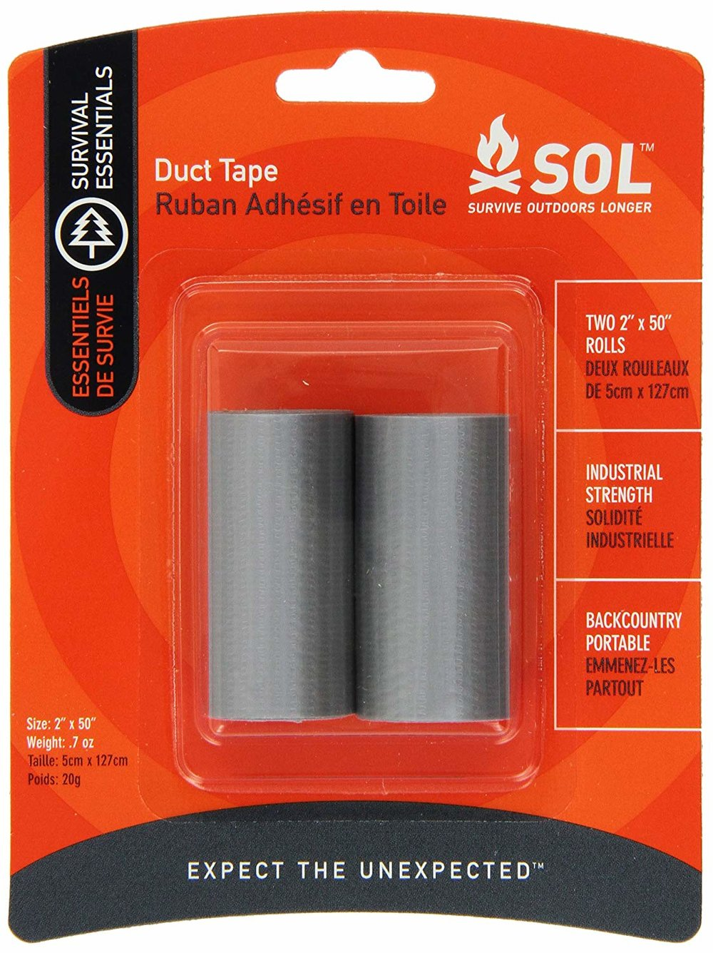Duct Tape - I bet if you look hard enough, you probably have a roll hanging out in the garage. Make a few wraps of it around your trekking poles so it's on hand and ready to go when you need it. It can repair all kinds of things.