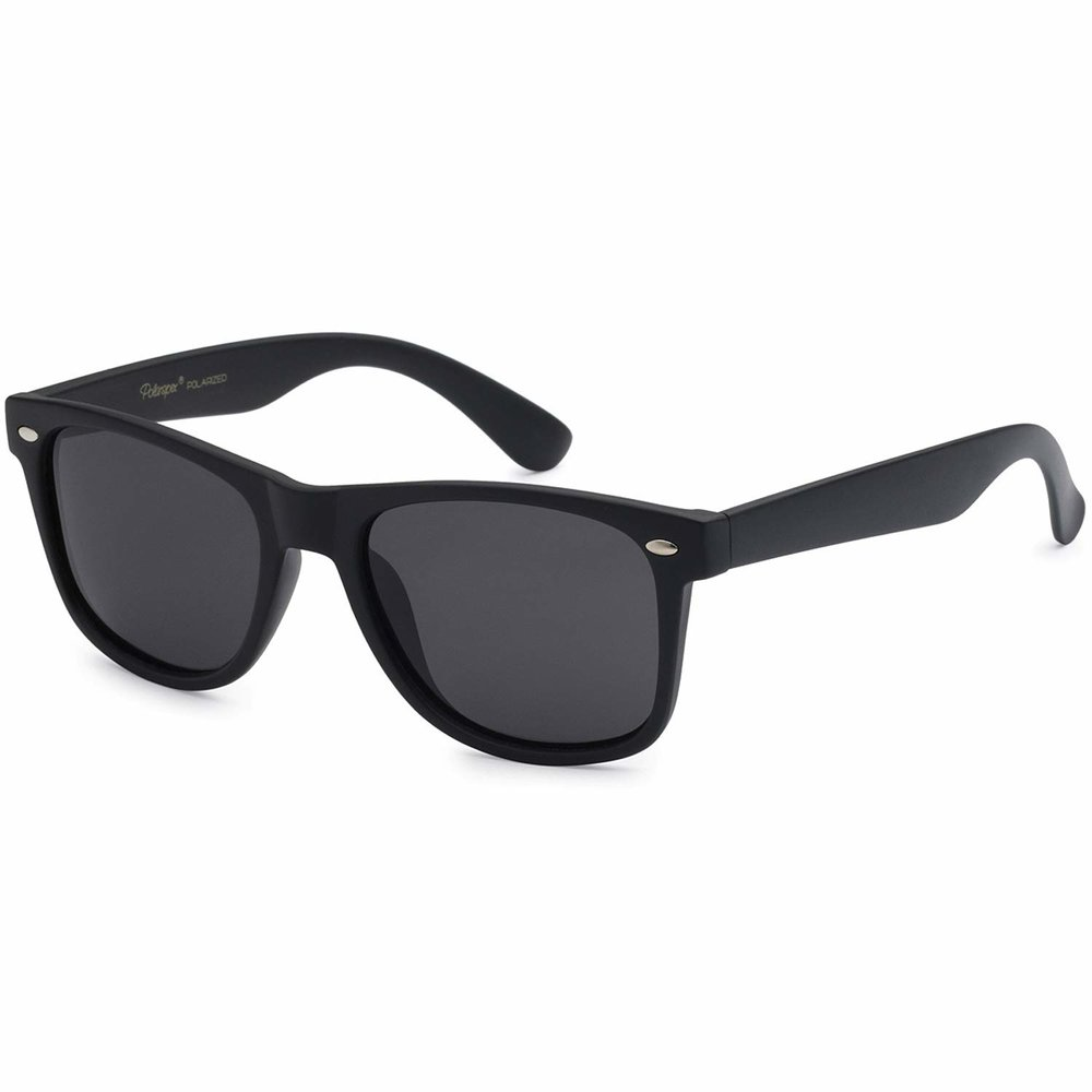 Sunglasses - It's important to protect your eyes from the sun. Be it gas station glasses or fancy ones, just have them on you. Make sure they protect the side of your eyes as well for bright days or when you're walking over snow.