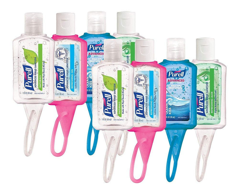 Hand Sanitizer - Need I say more? Buy in bulk and use often.