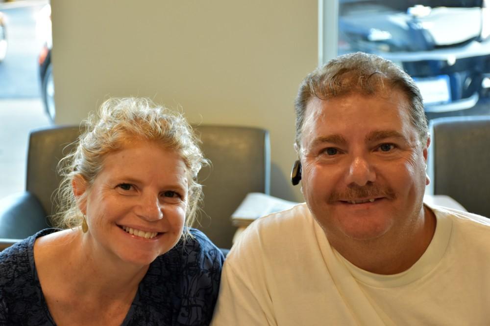 Lara Aaron & Rob Johnson