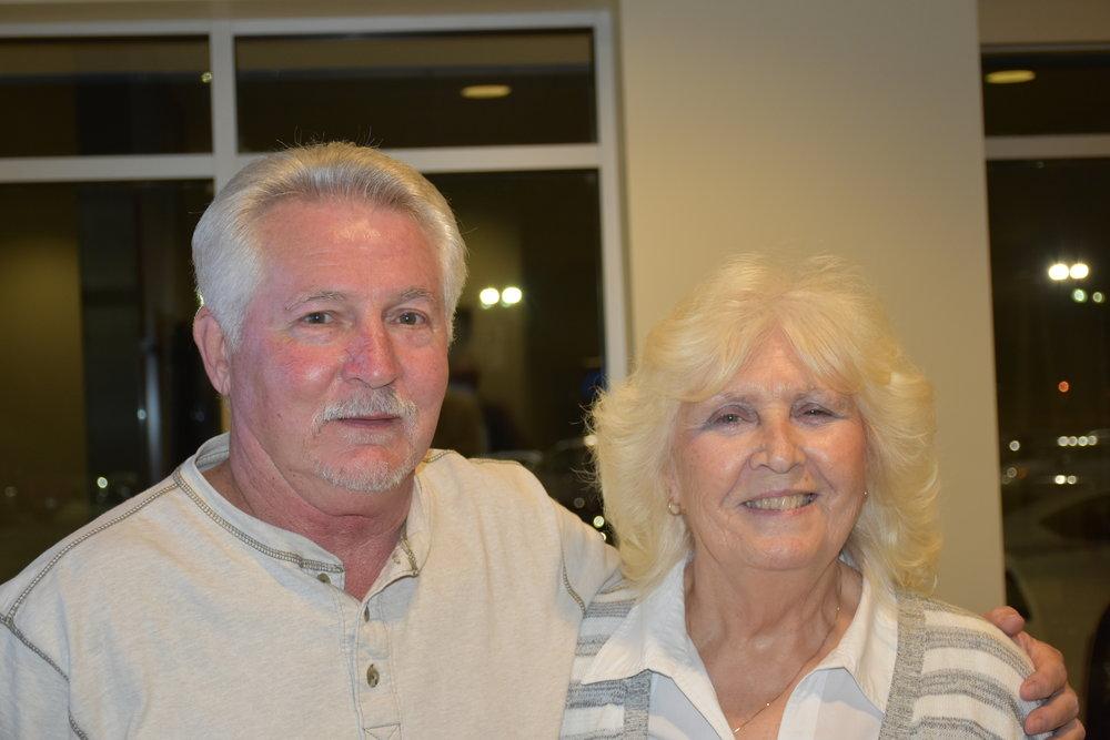 Clifton & Kathy Burton