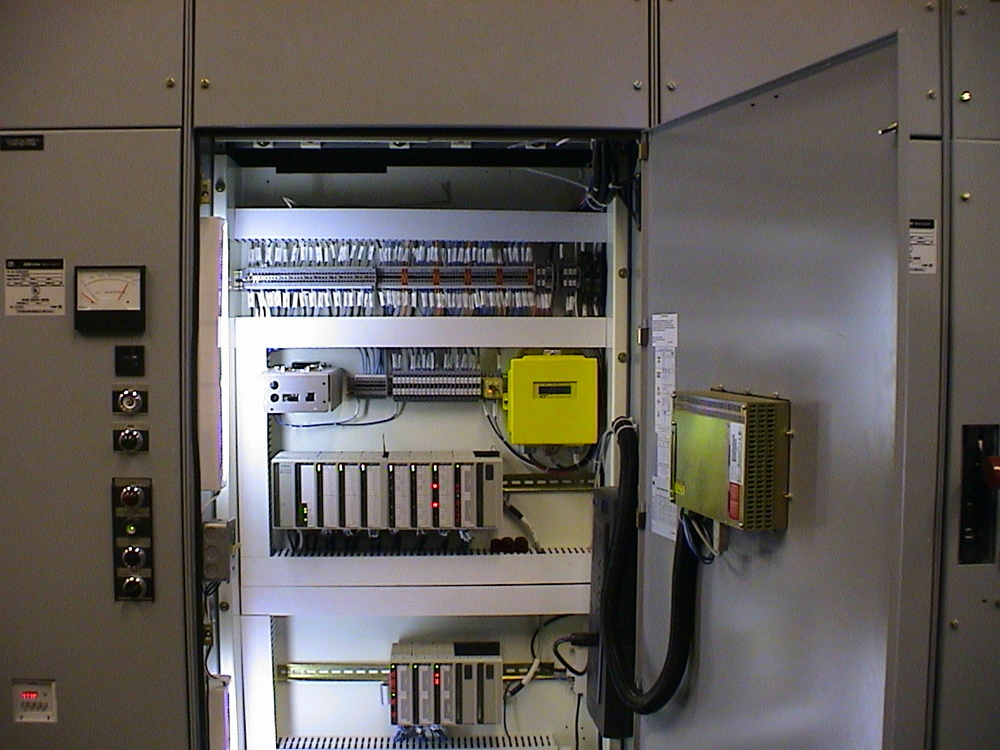 Panel with Programmable Logic Controller