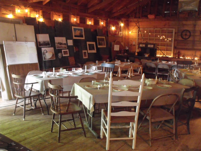 The Lumber Shed, a warm and inviting space