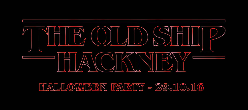 Stranger Things halloween party at the Old Ship Hotel
