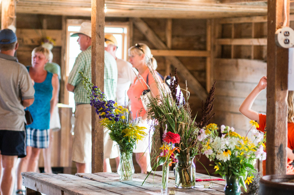 Annual Red Barn Flower Show