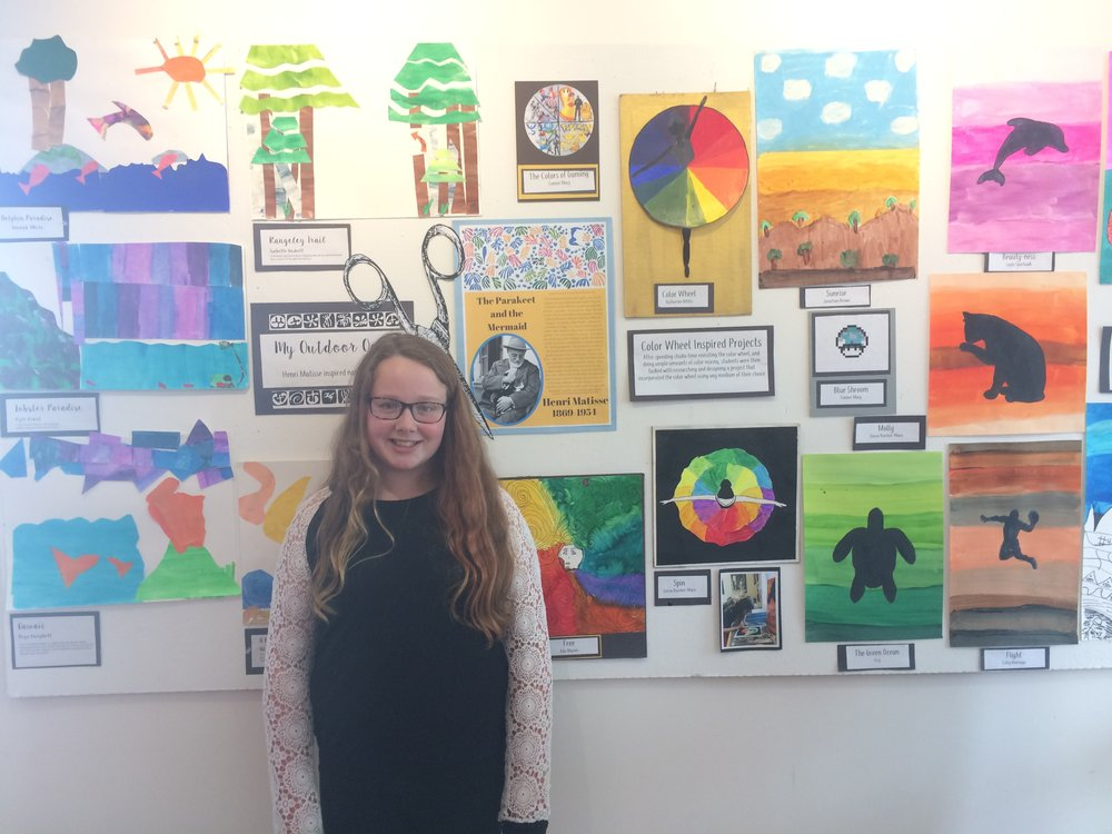 2017 Middle School Arts Show