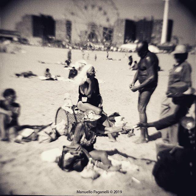 Coney Island, NYC, USA Holga Camera, Tmax400  #coneyislandphotography #westongallery #westonartists #holga #manuellopaganelli #kodaktmax400