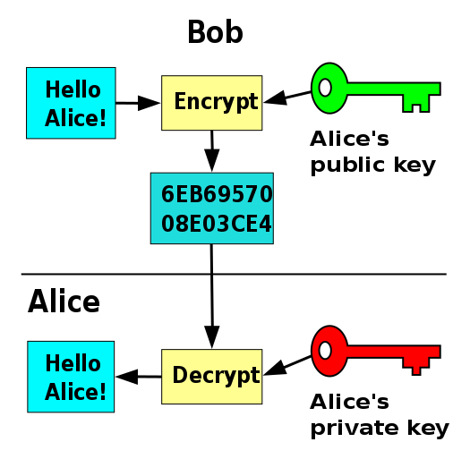 Actual public/private keys look more like  this