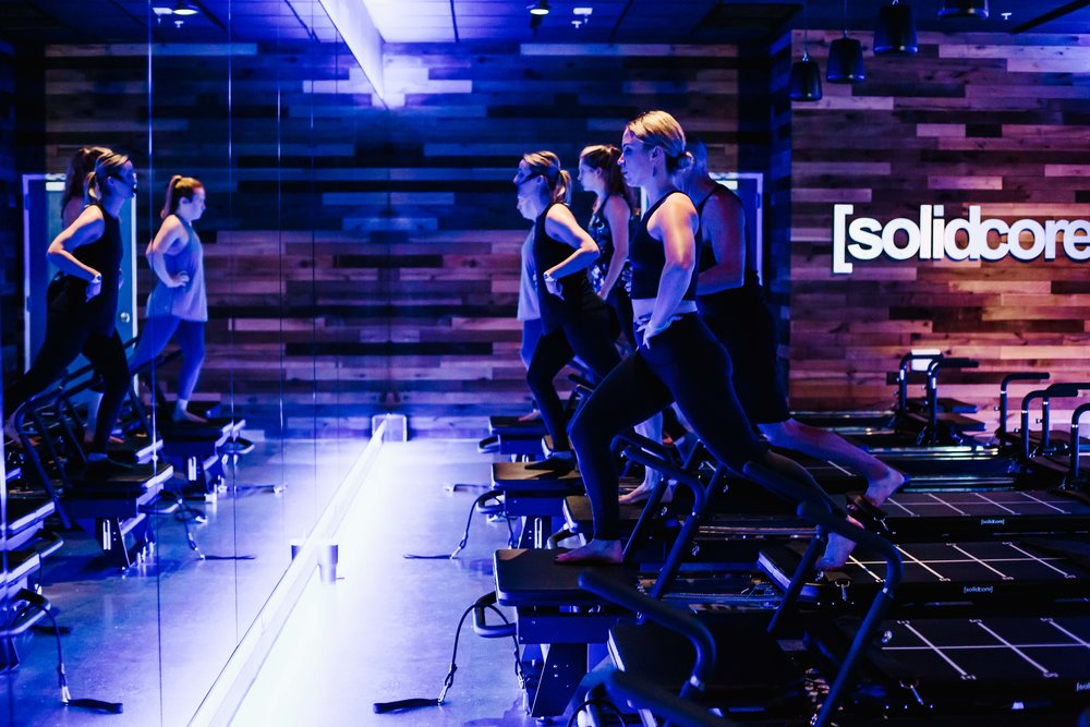The Class: Beginner Full Body Location:  solidcore | Photo Cred:  Cotangent Studio