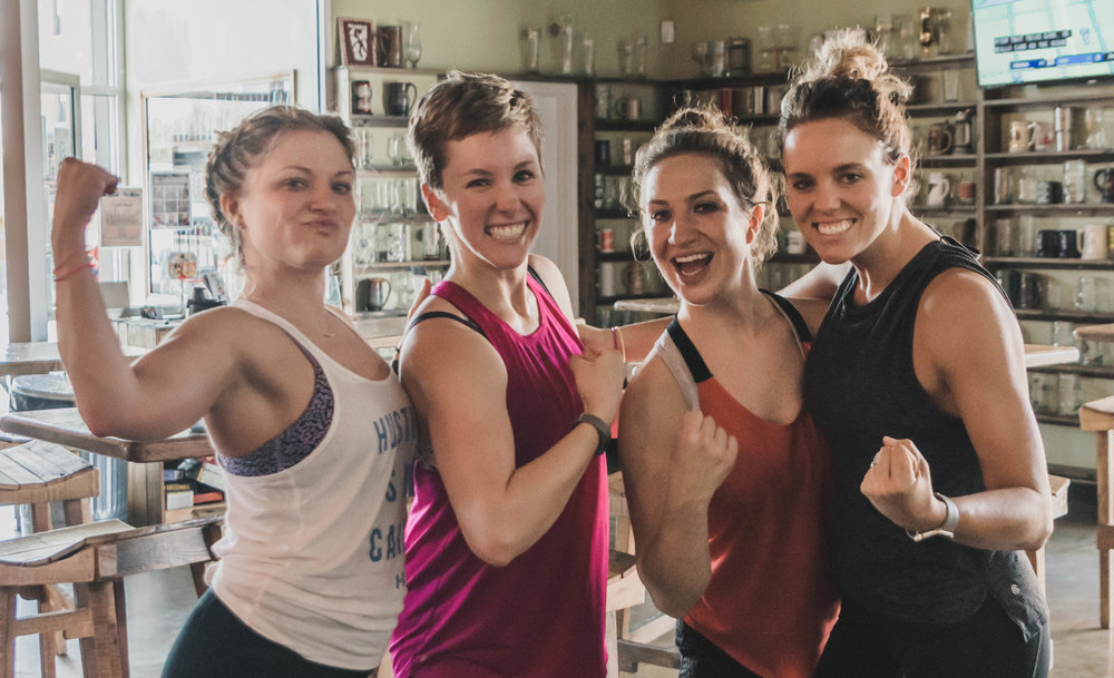 The Class: Hip Hop Dance Instructor:  Maria Romaine Brace  | Location:  Metazoa Brewing Co.  | Photo Cred:  Amy Hall