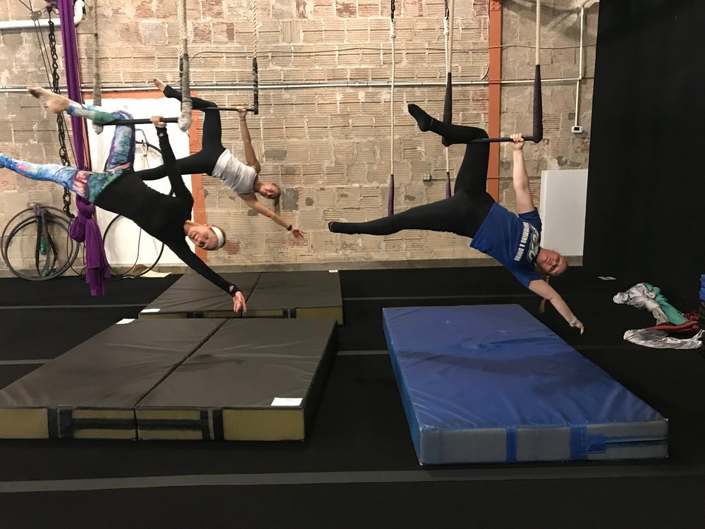 The Class: Trapeze and Other Apparatus Location:  Cirque Indy