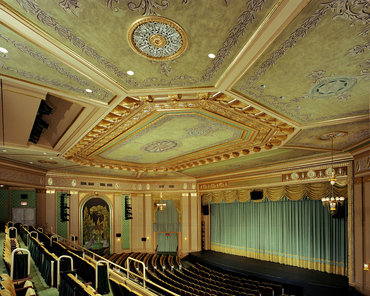 Paramount Theater Martinez Johnson Architecture