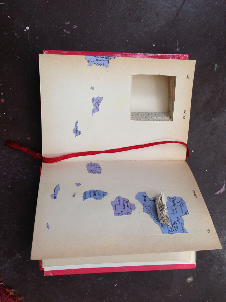 Journey    2016 Altered book