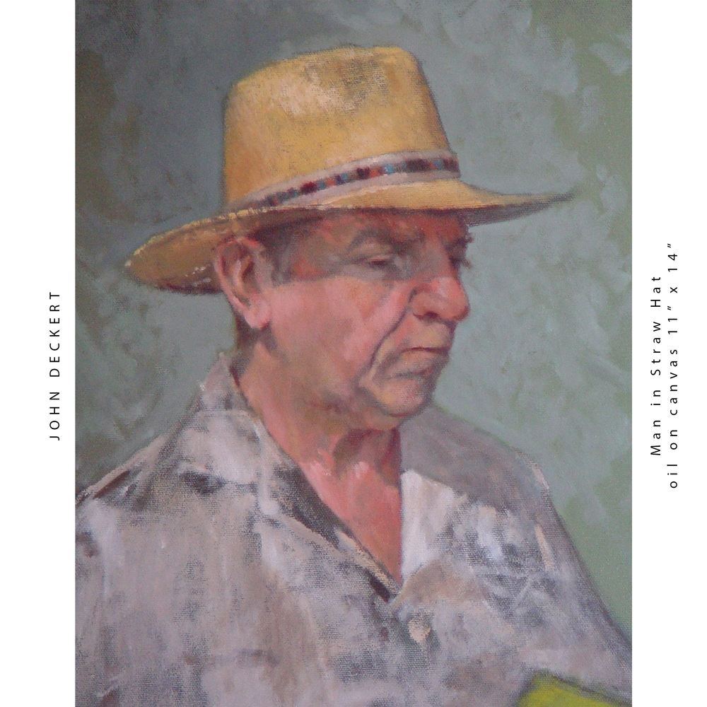 Man in Straw Hat