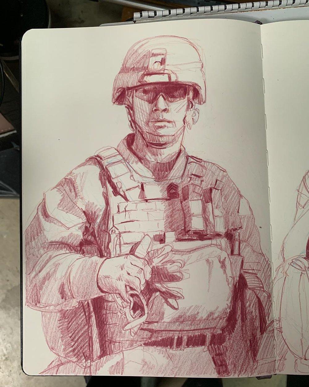Sergeant Major Bull- 1st Battalion, 11th Marines