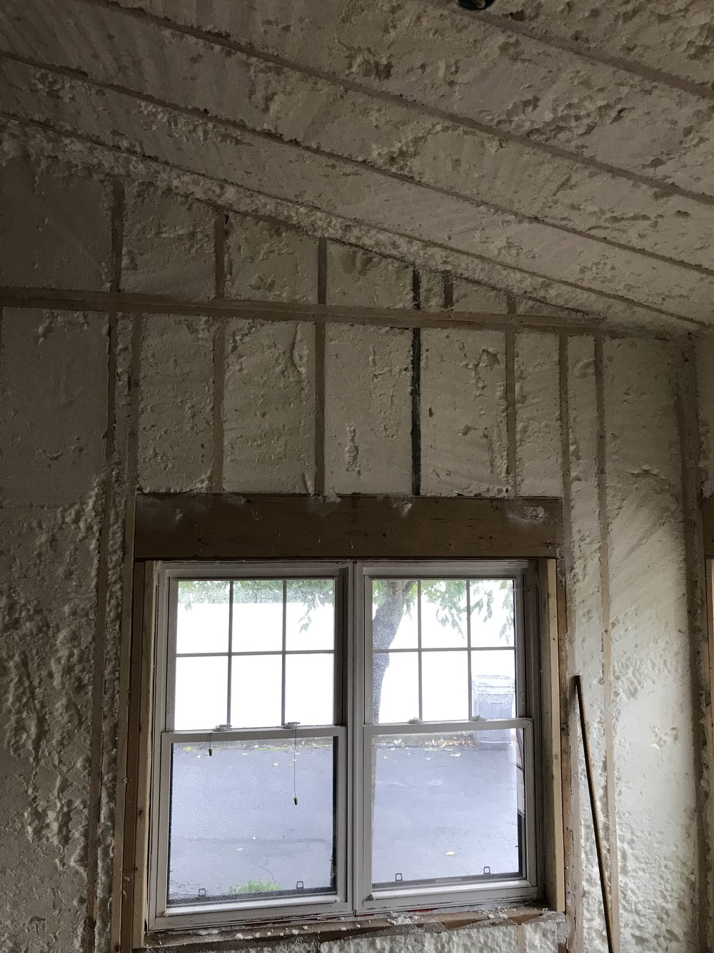 Spray Foam - Addition
