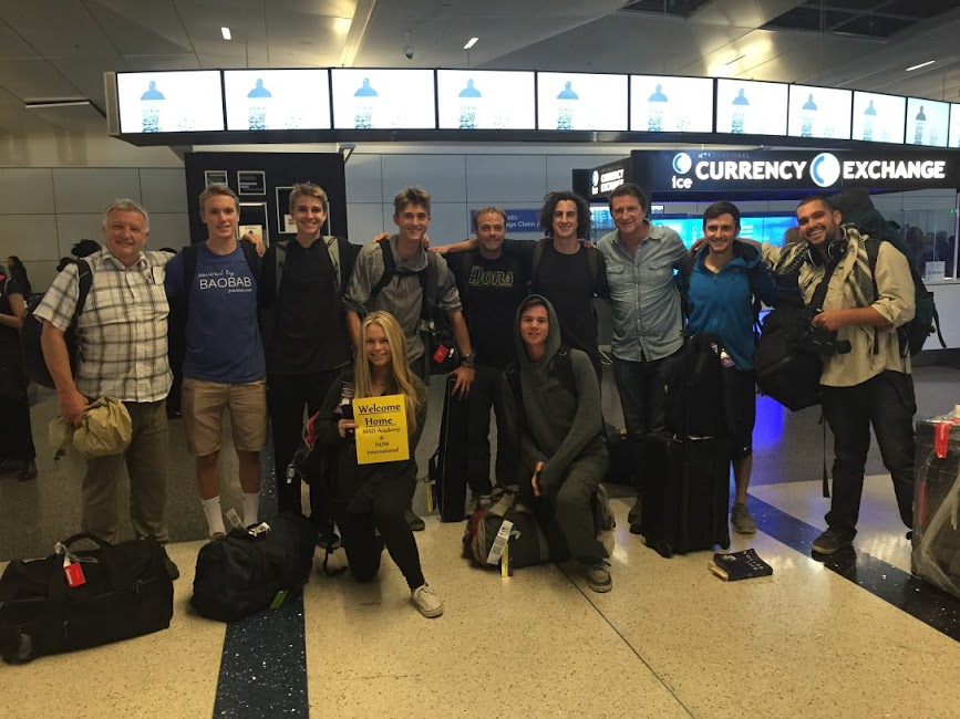 Our team returning from our trip to Jaipur, India and Mozambique after returning Florencia to her village