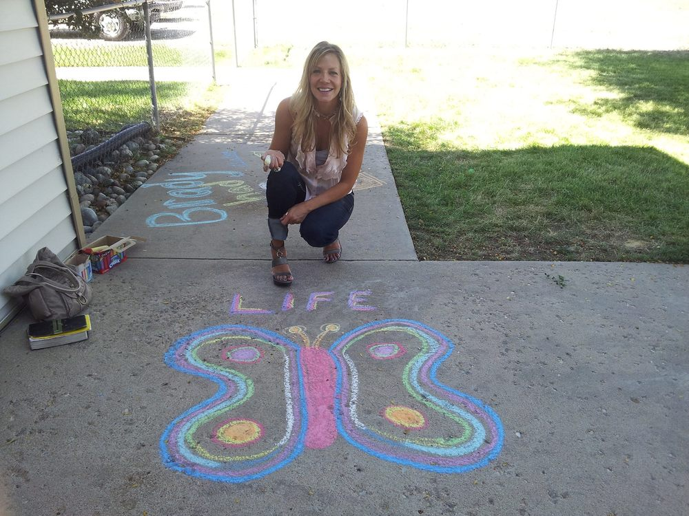 Pro-Life Chalk Day
