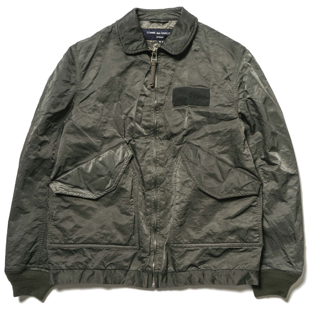 Comme-Des-Garcons-Homme-Garment-Dyed-Nylon-High-Density-Twill-Jacket-SAGE-GREEN-1.jpg