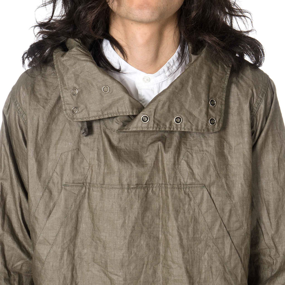 Engineered-Garments-Cagoule-Coted-Linen-OLIVE-6.jpg