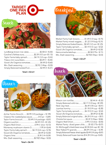Free guides mr mrs vegan one pan breakfast lunch dinner snack target stores shopping guide forumfinder Images