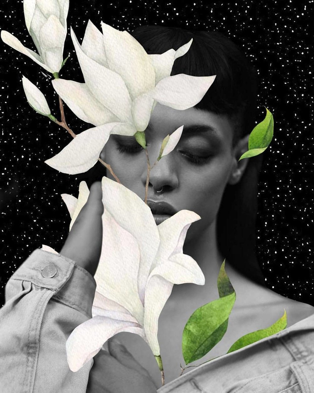 Colagem de Luciana Aranha (@Luspider)