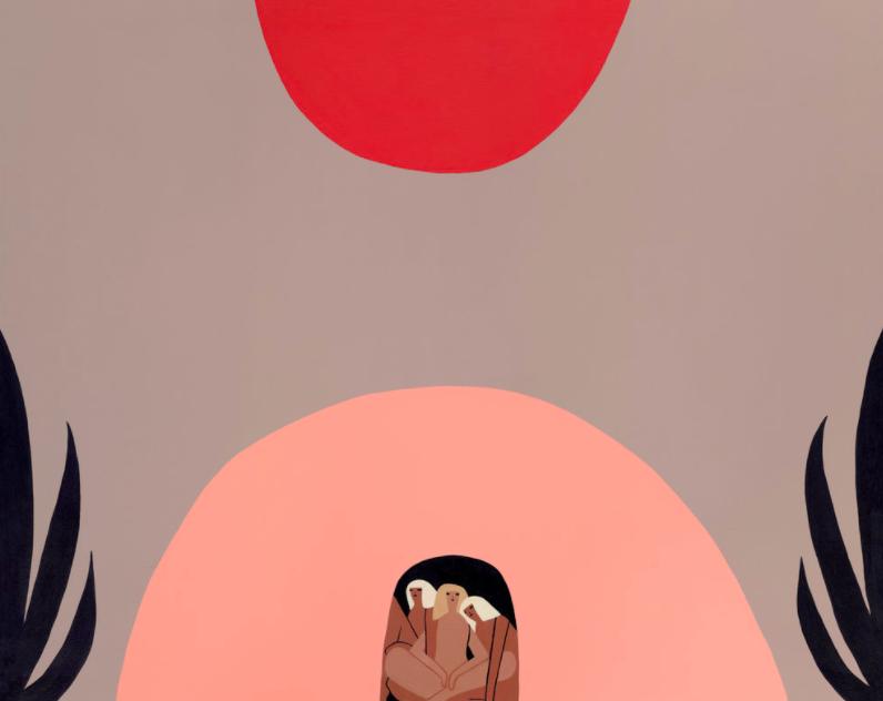 Ilustração da artista Laura Berger