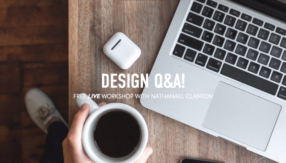 Frontrunners Design Q&A FREE Workshop