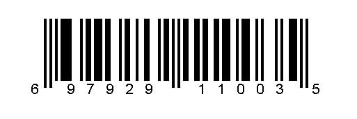 Example of a UPC code