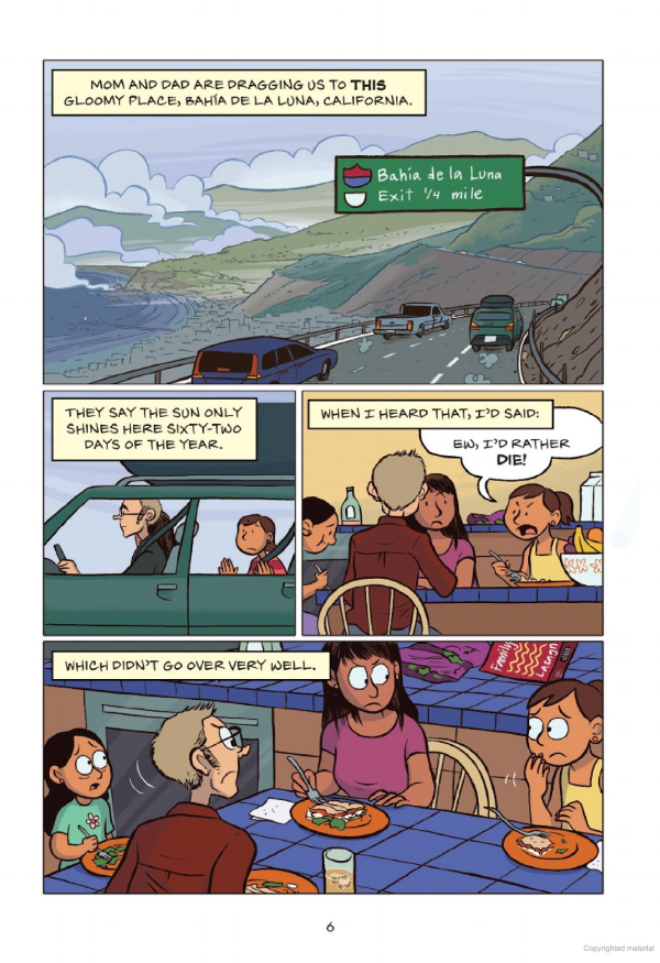by Raina Telgemeier, colors by Braden Lamb