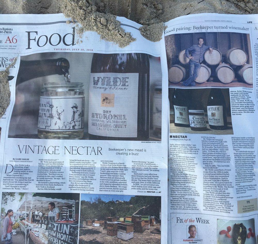 Santa Barbara News Press, July 26 2018
