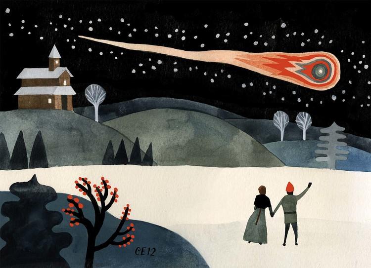 Fiery Comet -  Carson Ellis