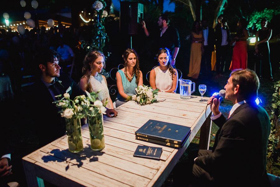 ceremonia civil, novios y testigos