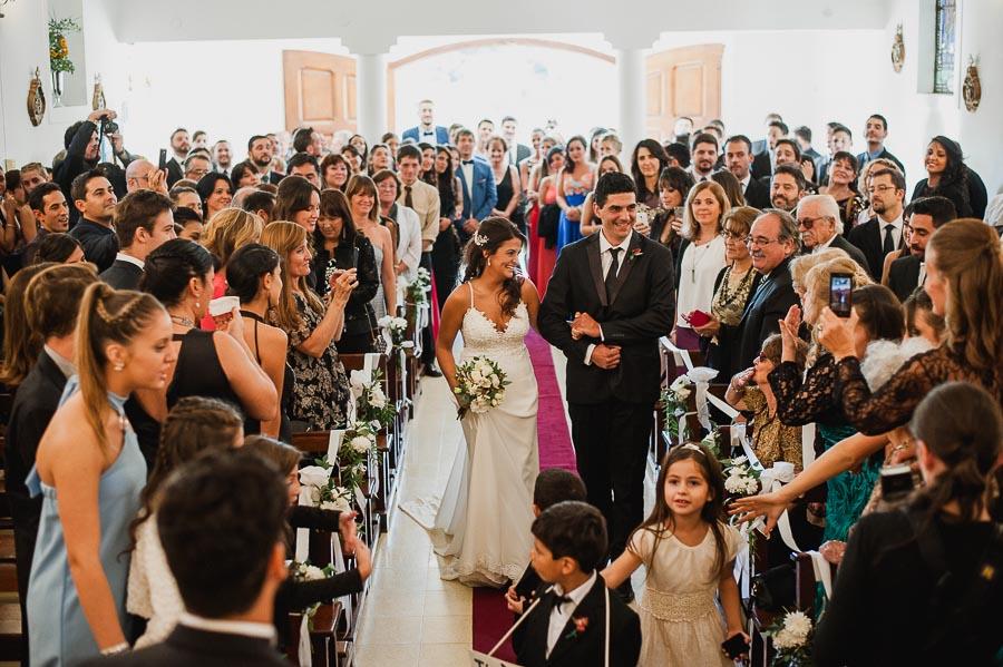 imagen panoramica de la capilla en el ingreso de la novia