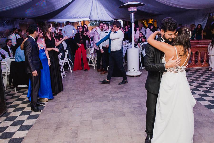 primer vals de los recién casados